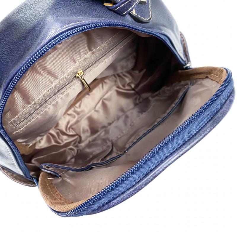 Женский рюкзак Bonnie синий - 4 фото