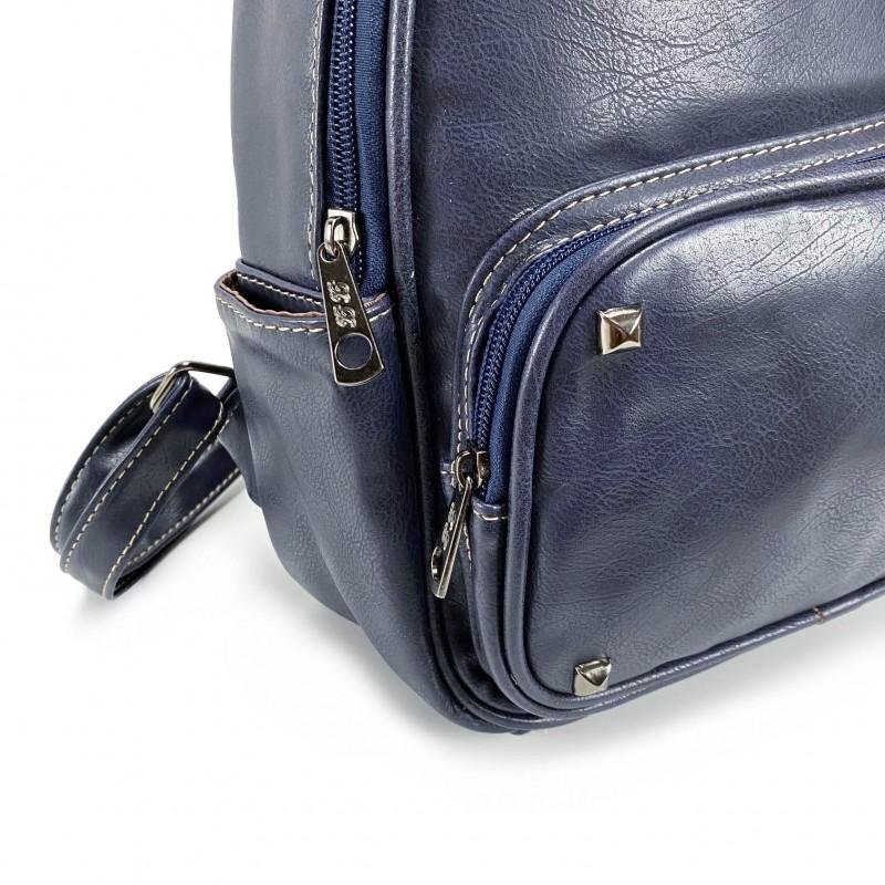 Женский рюкзак Bonnie синий - 5 фото