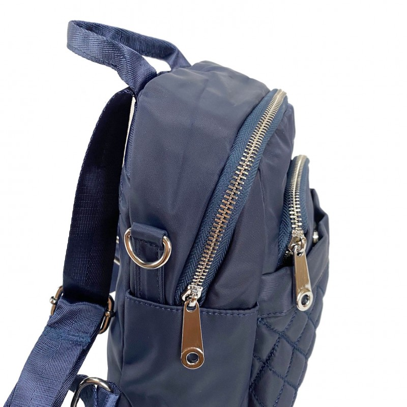 Женский рюкзак Viva синий - 6 фото