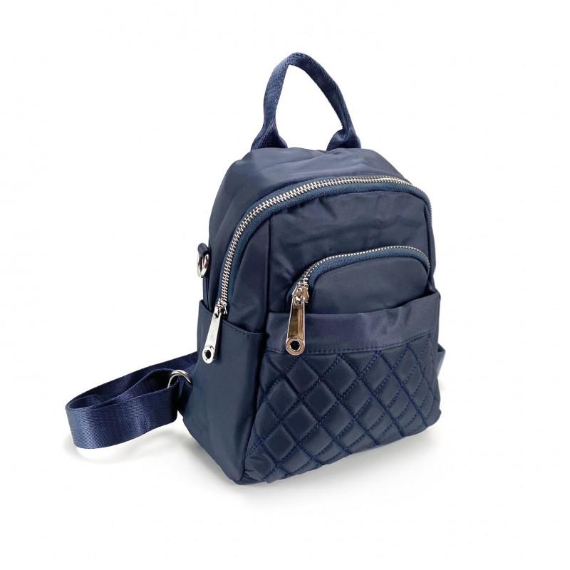 Женский рюкзак Viva синий - 8 фото