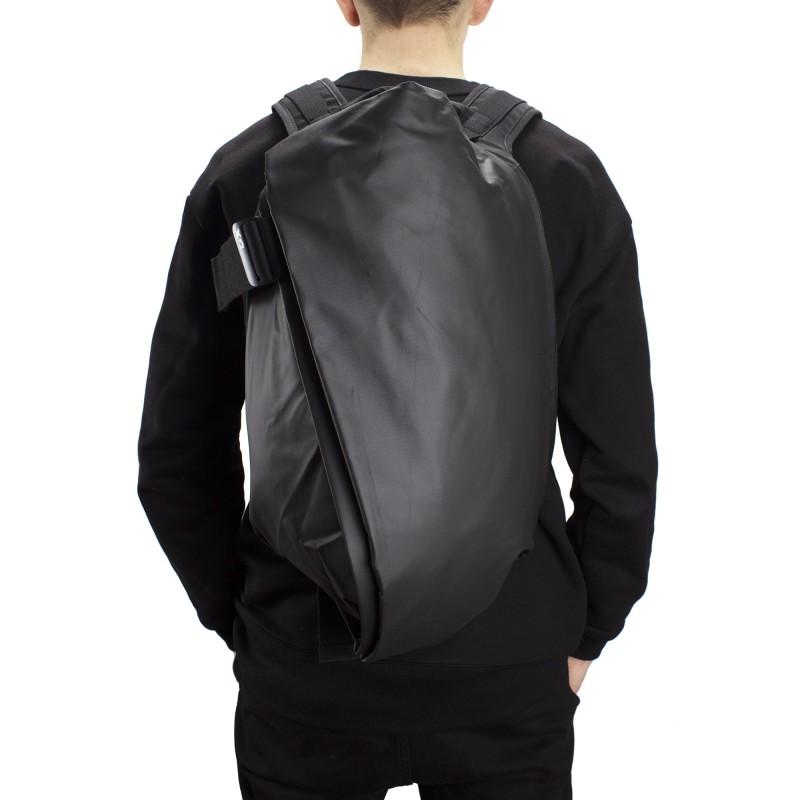 Мужской рюкзак Mackar Black черный фото - 6