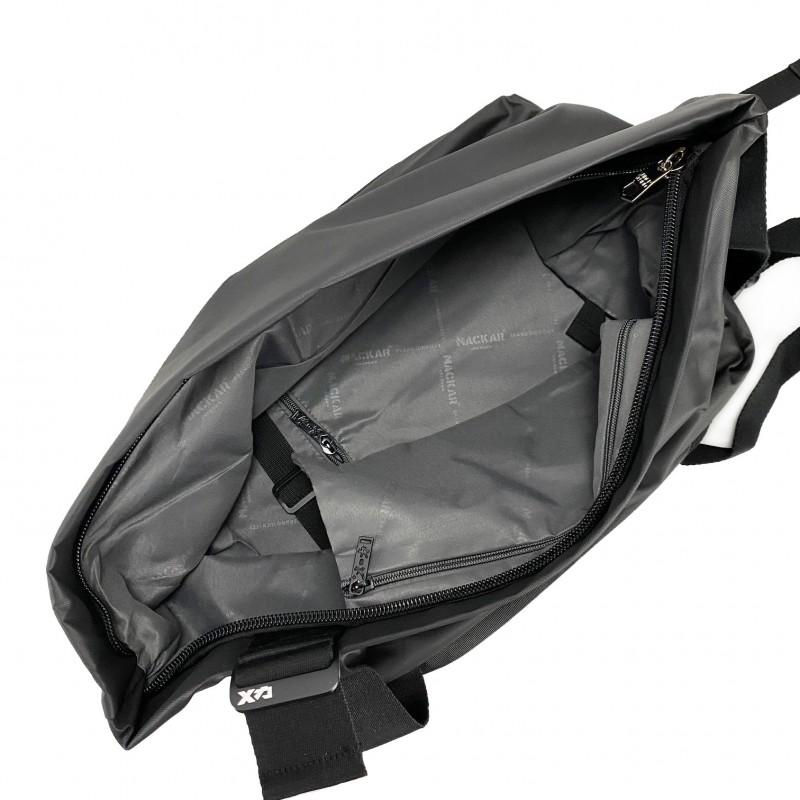 Мужской рюкзак Mackar Black черный фото - 10