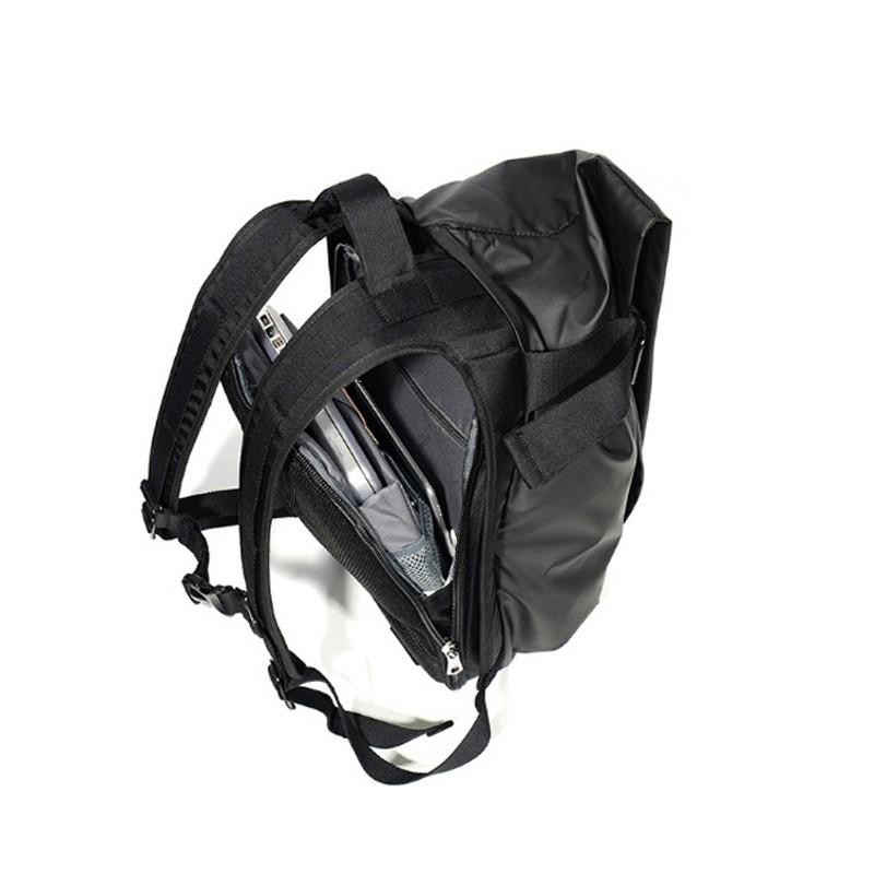 Мужской рюкзак Mackar Black черный фото - 11