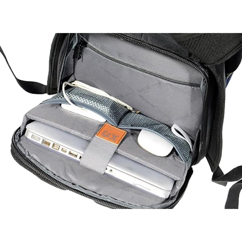 Мужской рюкзак Mackar Black черный фото - 12