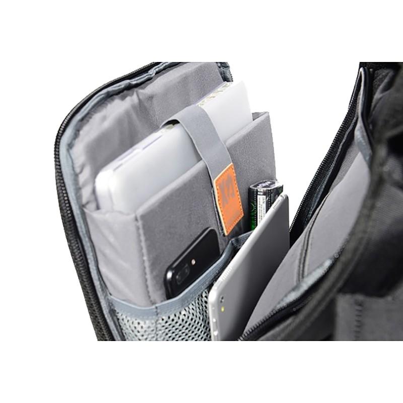 Мужской рюкзак Mackar Black черный фото - 13