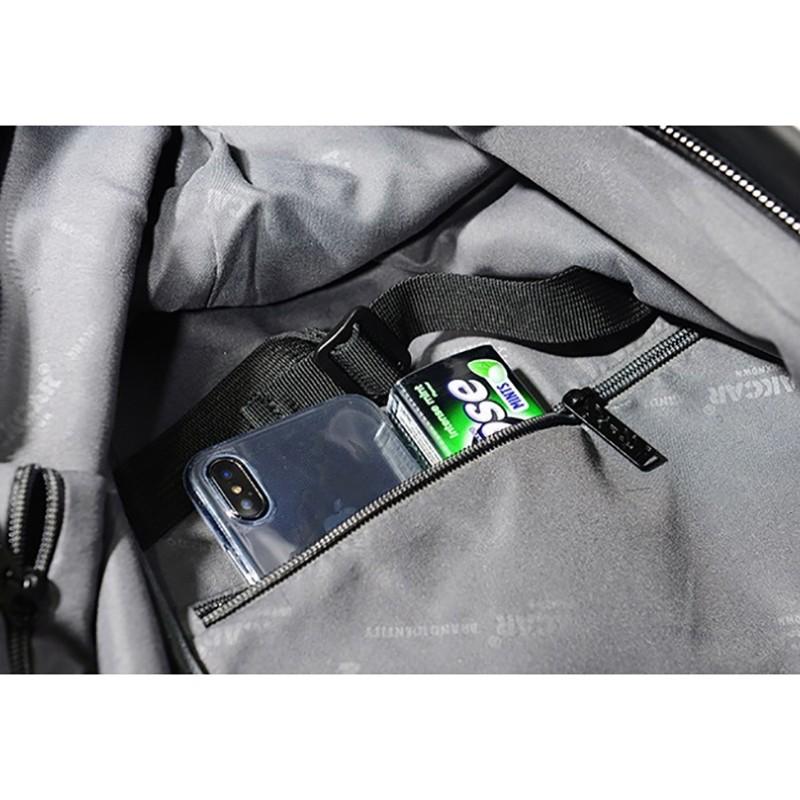 Мужской рюкзак Mackar Black черный фото - 14