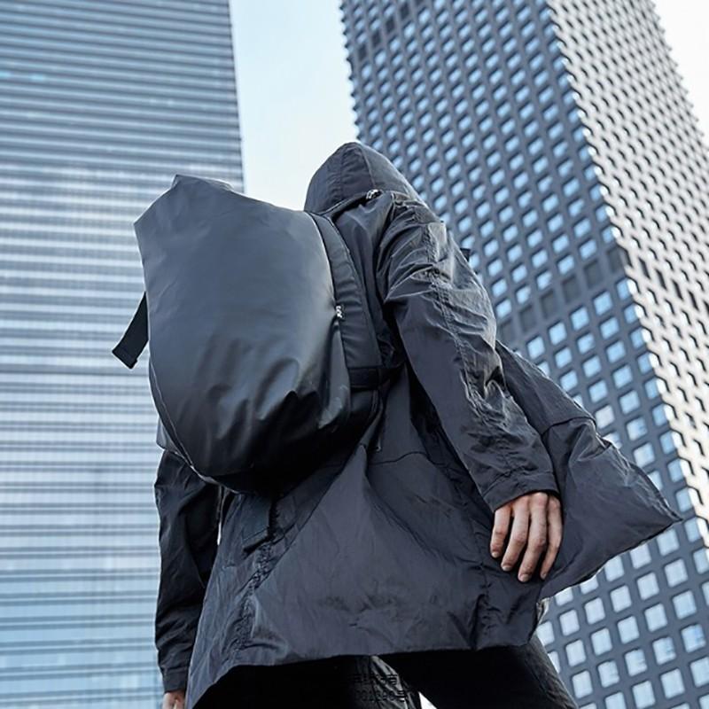 Мужской рюкзак Mackar Black черный фото - 16