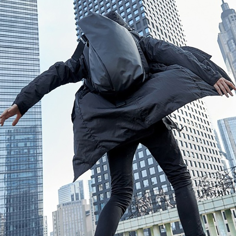 Мужской рюкзак Mackar Black черный фото - 17
