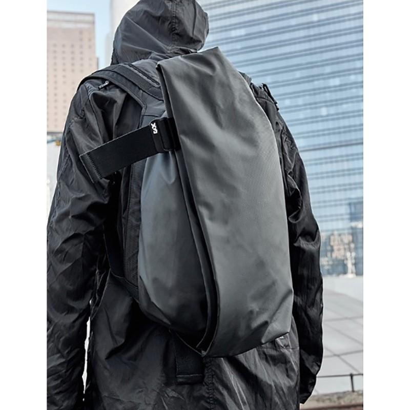 Мужской рюкзак Mackar Black черный фото - 18