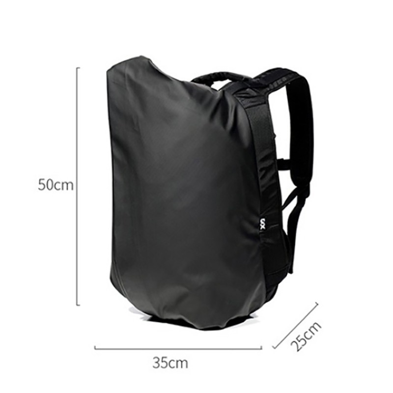 Мужской рюкзак Mackar Black черный фото - 21