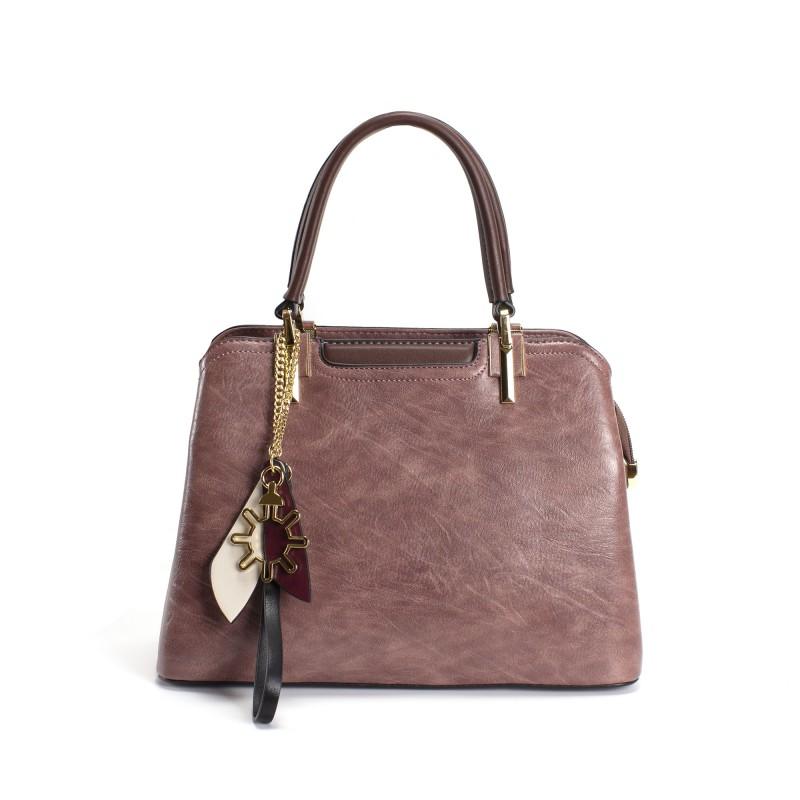 Женская классическая сумка Tiffany сиреневая фото