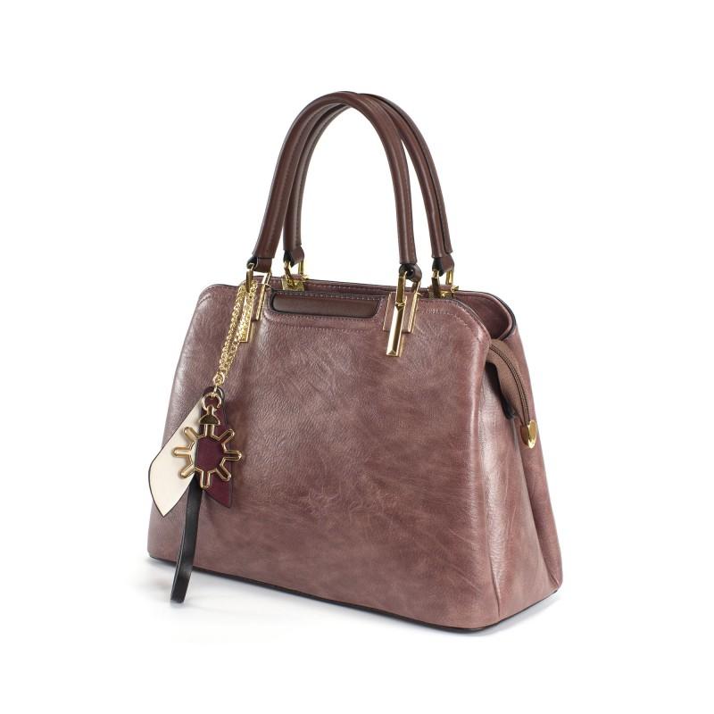 Женская классическая сумка Tiffany сиреневая - 1 фото