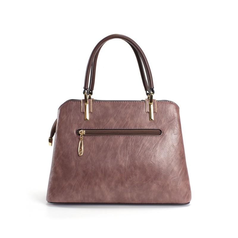 Женская классическая сумка Tiffany сиреневая - 2 фото