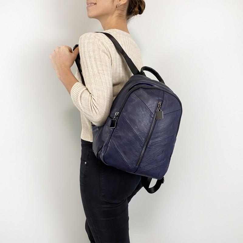 Женский рюкзак Jenny синий - 4 фото