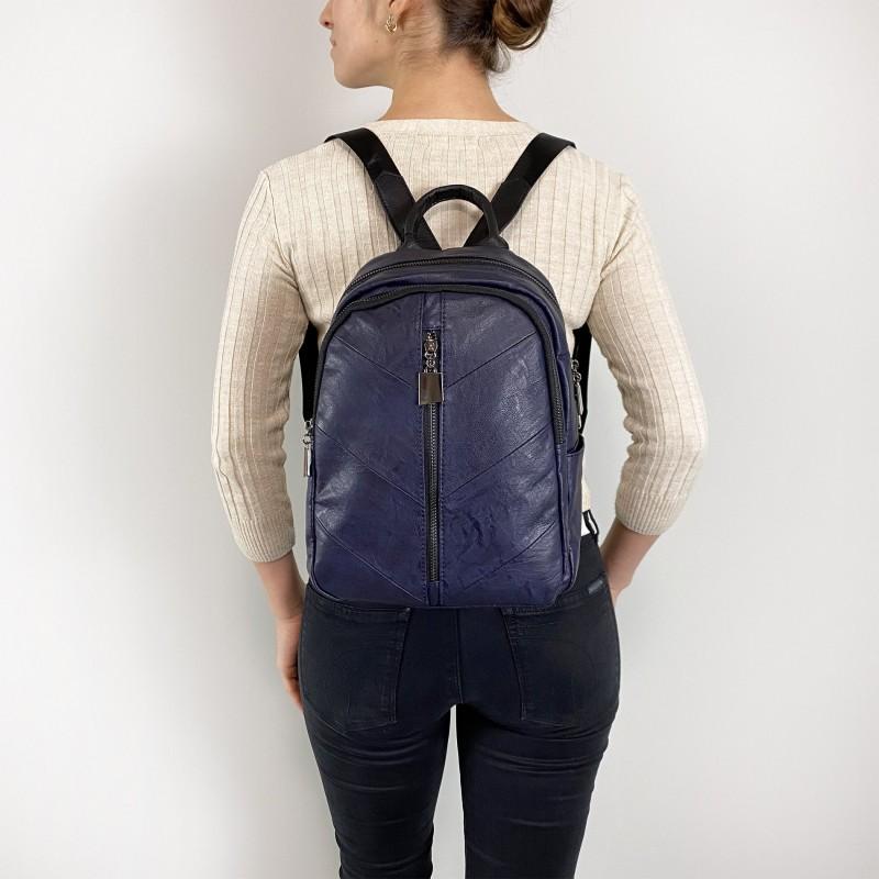 Женский рюкзак Jenny синий - 5 фото