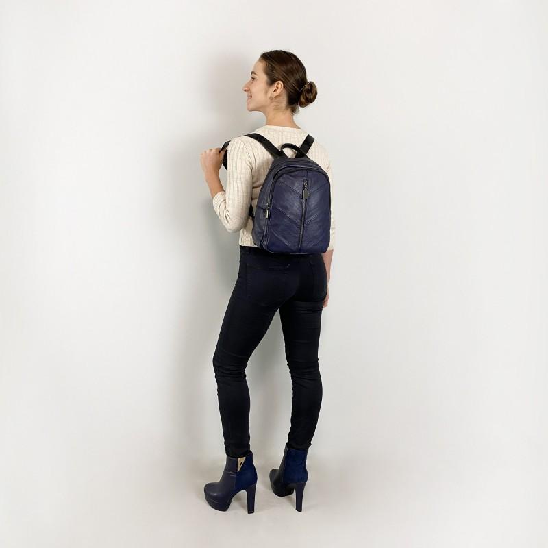 Женский рюкзак Jenny синий - 8 фото