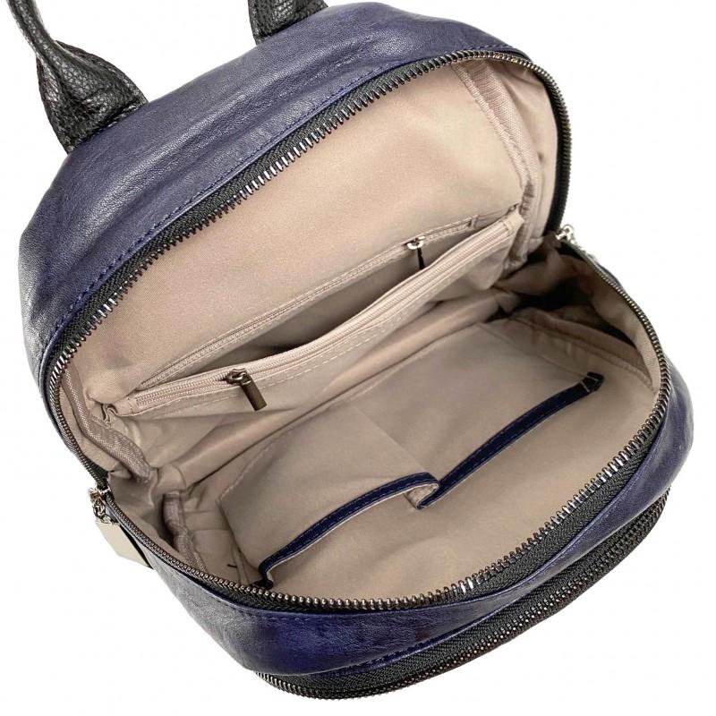 Женский рюкзак Jenny синий - 9 фото