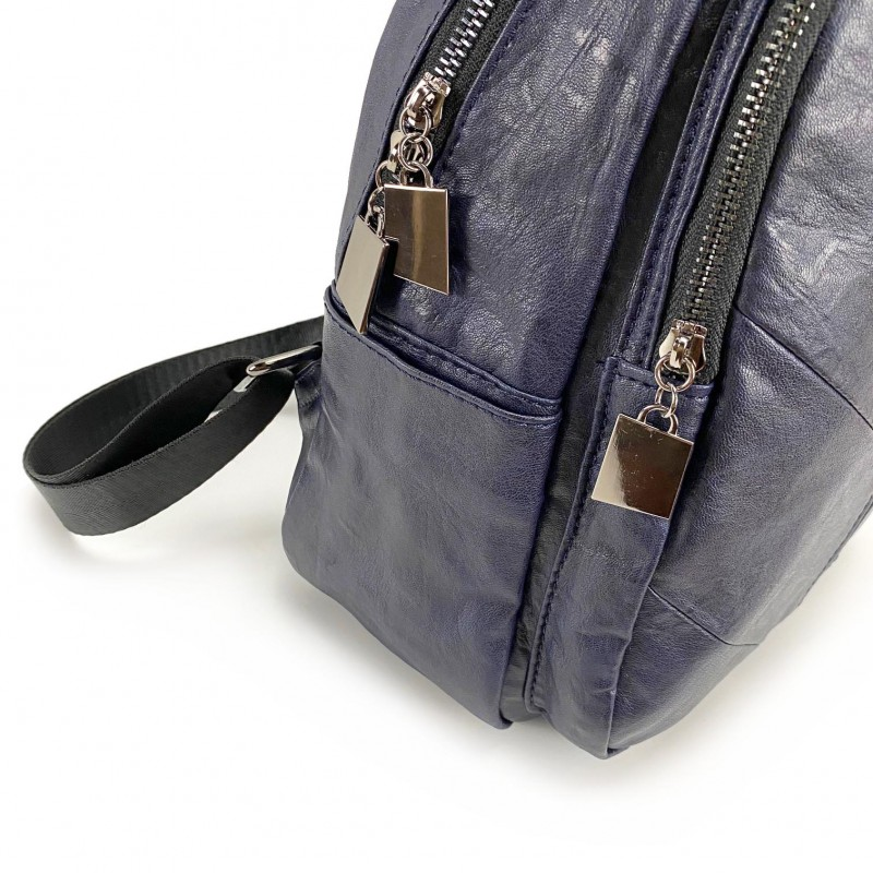 Женский рюкзак Jenny синий - 10 фото