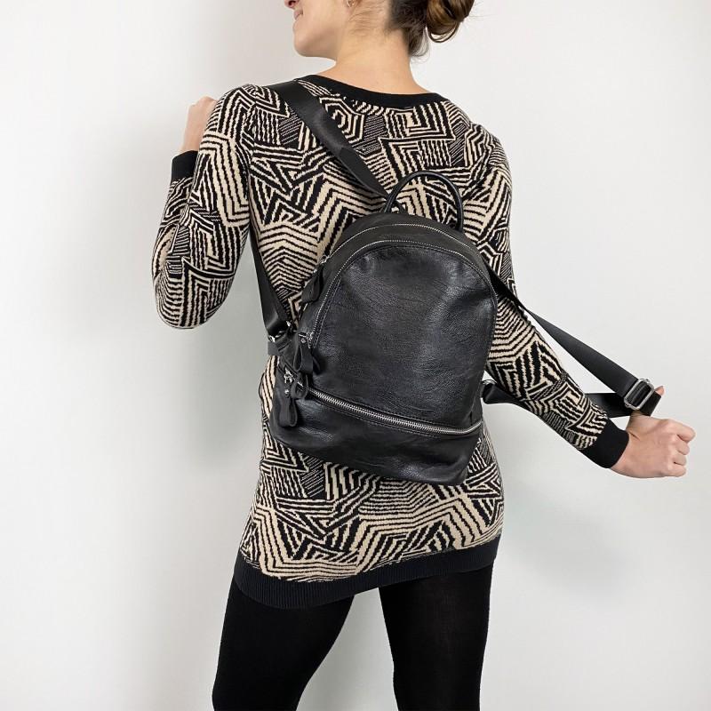 Женский рюкзак Sandy черный - 4 фото