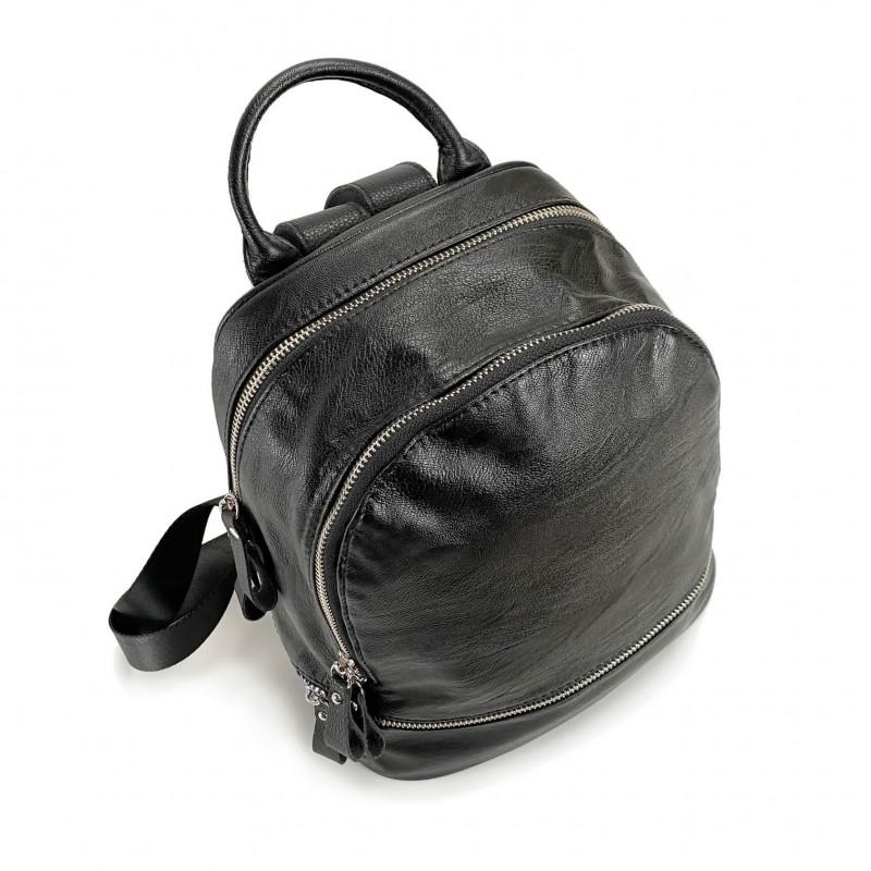 Женский рюкзак Sandy черный - 9 фото