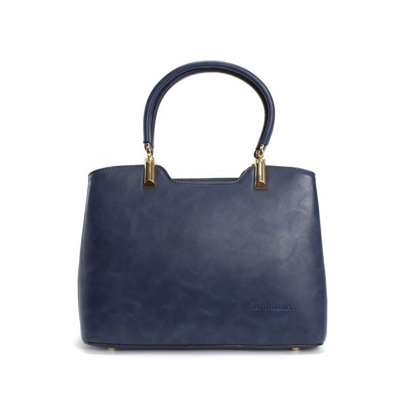 Женская классическая сумка Isa Paulina Fly синяя фото