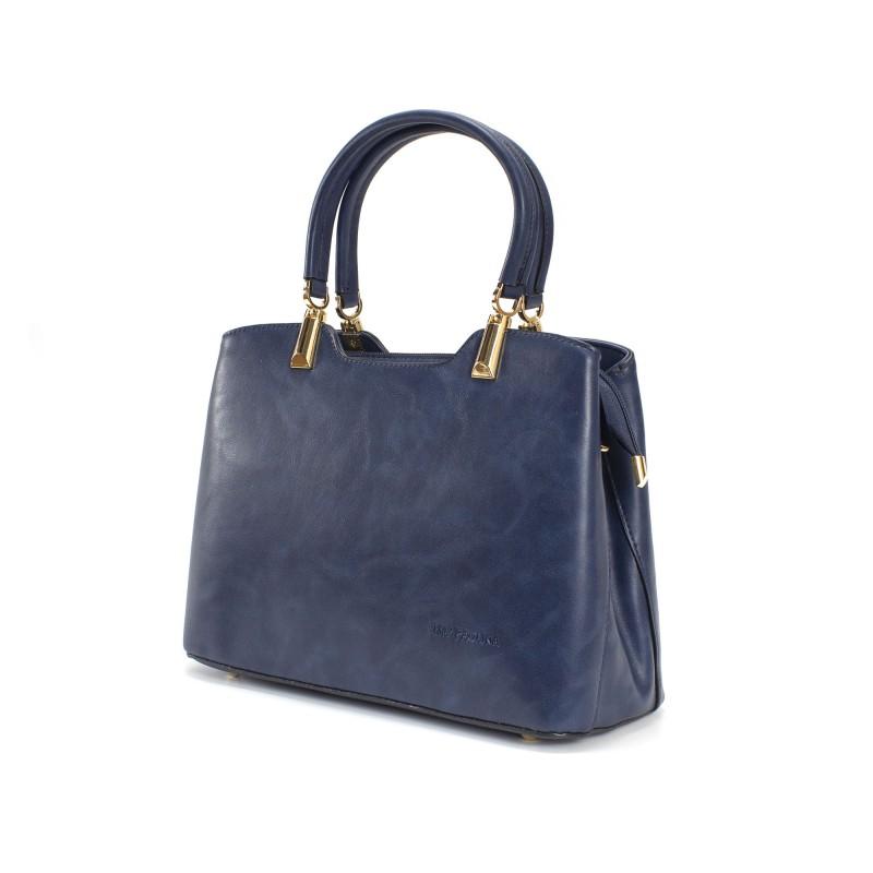 Женская классическая сумка Isa Paulina Fly синяя - 1 фото