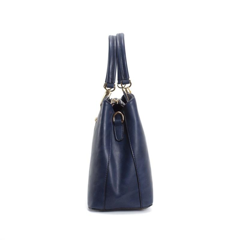 Женская классическая сумка Isa Paulina Fly синяя - 2 фото