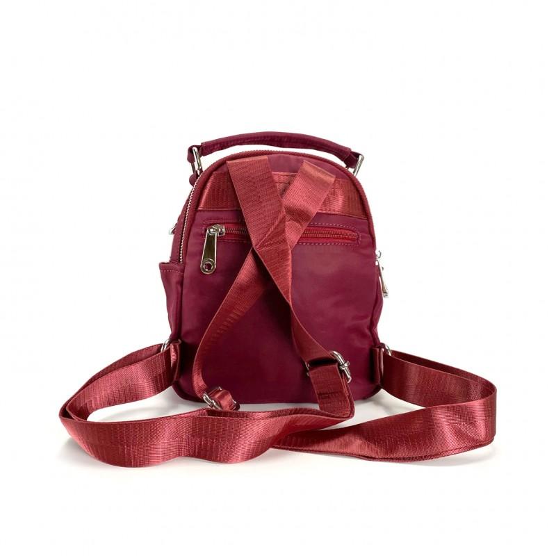 Женский рюкзак Vox бордовый - 2 фото