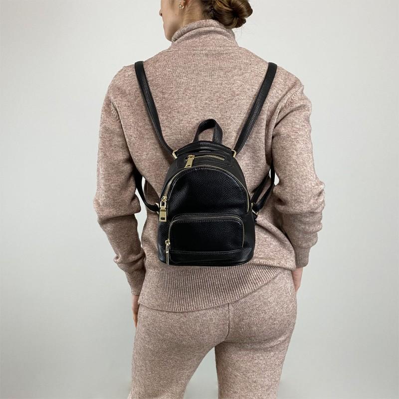 Женский рюкзак Amy черный - 4 фото