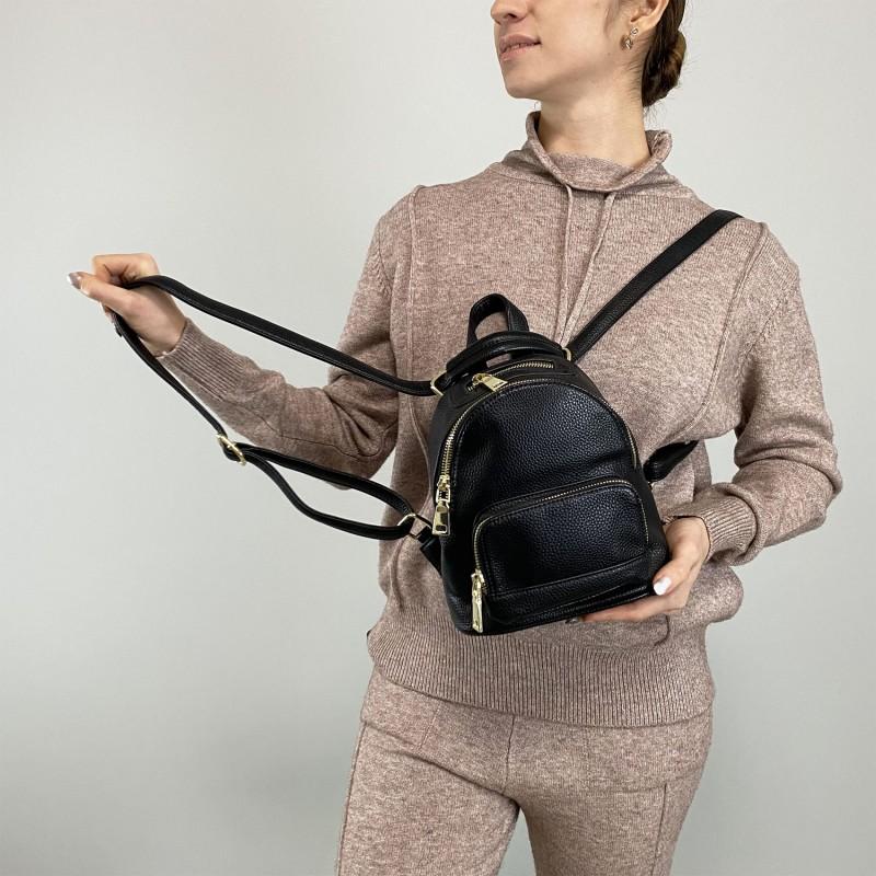 Женский рюкзак Amy черный - 5 фото