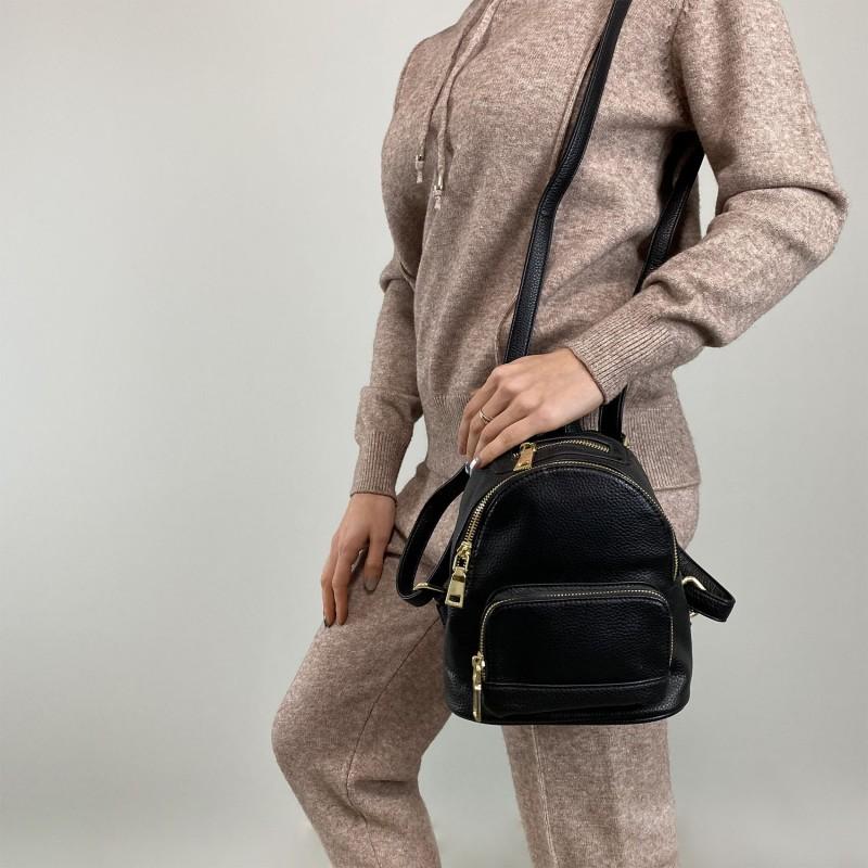 Женский рюкзак Amy черный - 6 фото