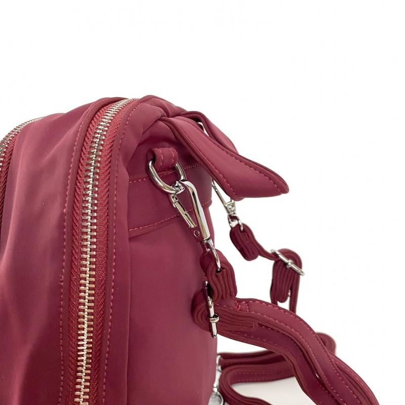 Женский рюкзак Eva бордовый - 8 фото