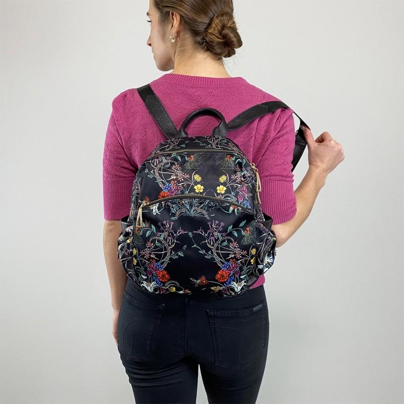Женский рюкзак Nikki разноцветный - 4 фото