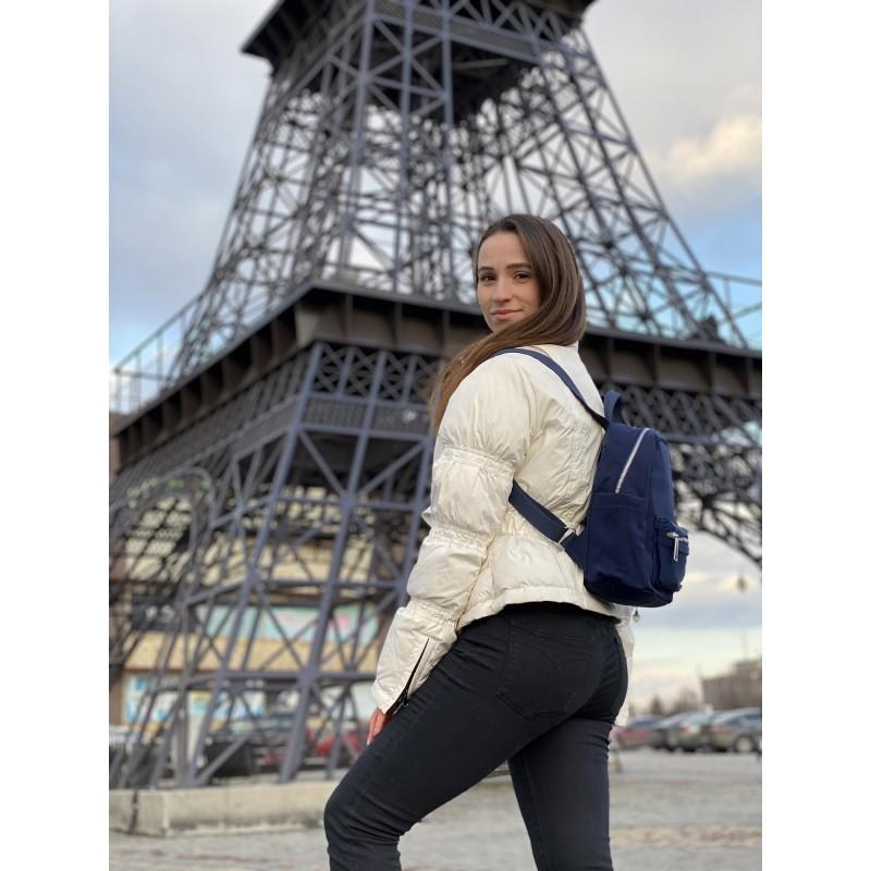 Женский рюкзак Julie синий - 4 фото