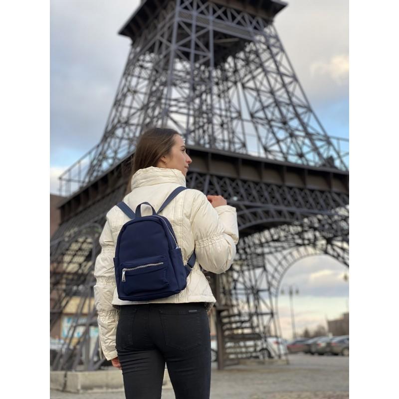 Женский рюкзак Julie синий - 5 фото
