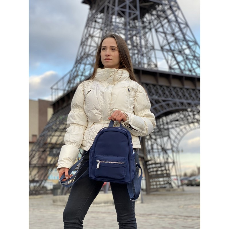 Женский рюкзак Julie синий - 6 фото