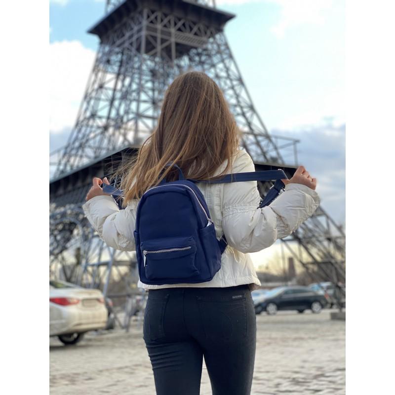 Женский рюкзак Julie синий - 7 фото