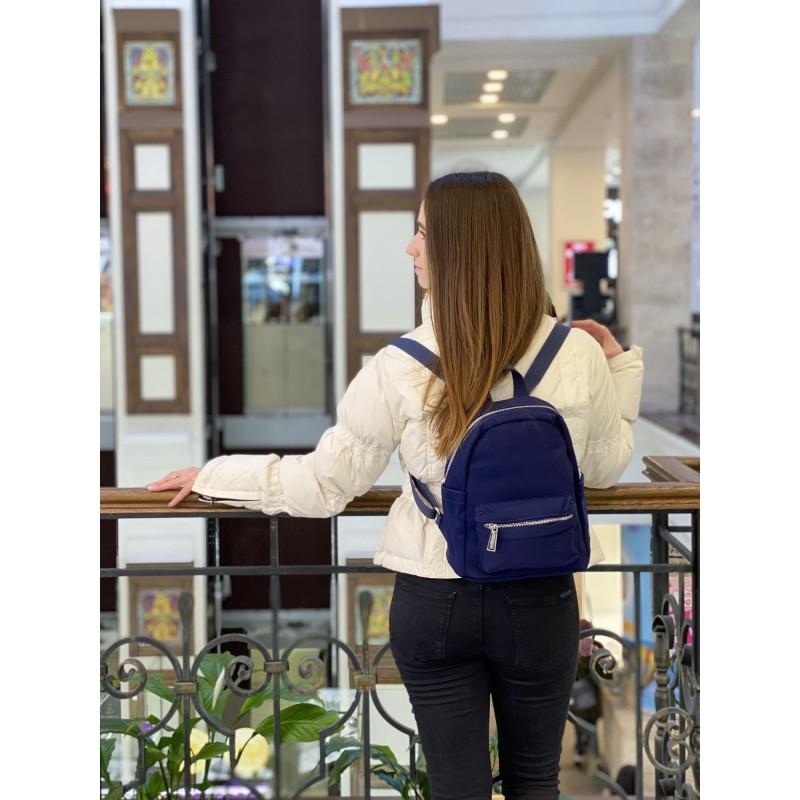 Женский рюкзак Julie синий - 8 фото