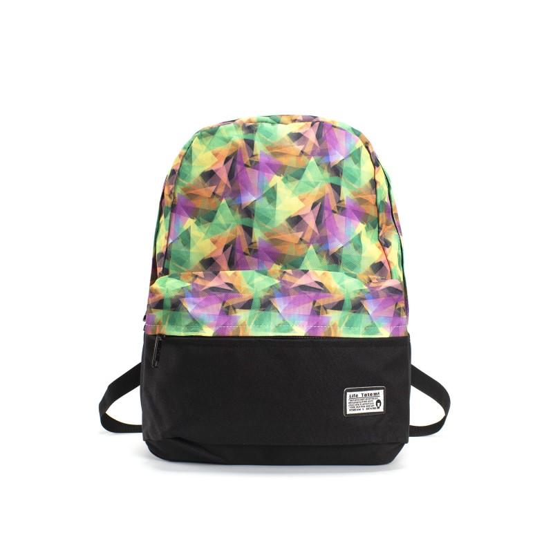 Жіночий рюкзак Illusion View різнокольоровий фото
