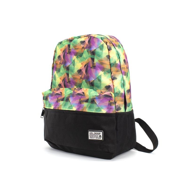 Женский рюкзак Illusion View разноцветный фото - 1