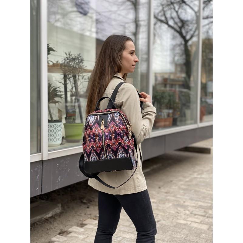 Женский рюкзак Gloria разноцветный - 5 фото
