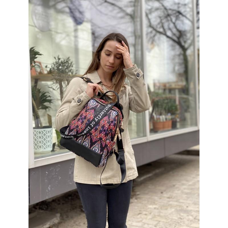 Женский рюкзак Gloria разноцветный - 7 фото
