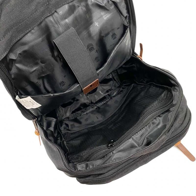 Женский рюкзак Fashion черно-розовый - 10 фото