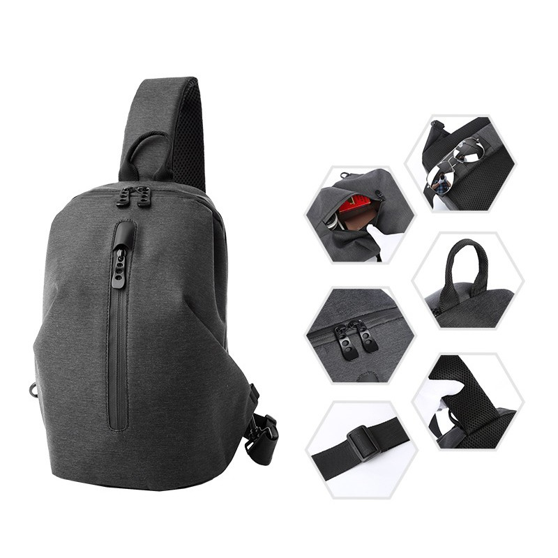 Мужской рюкзак Tailor на одно плечо - 3 фото