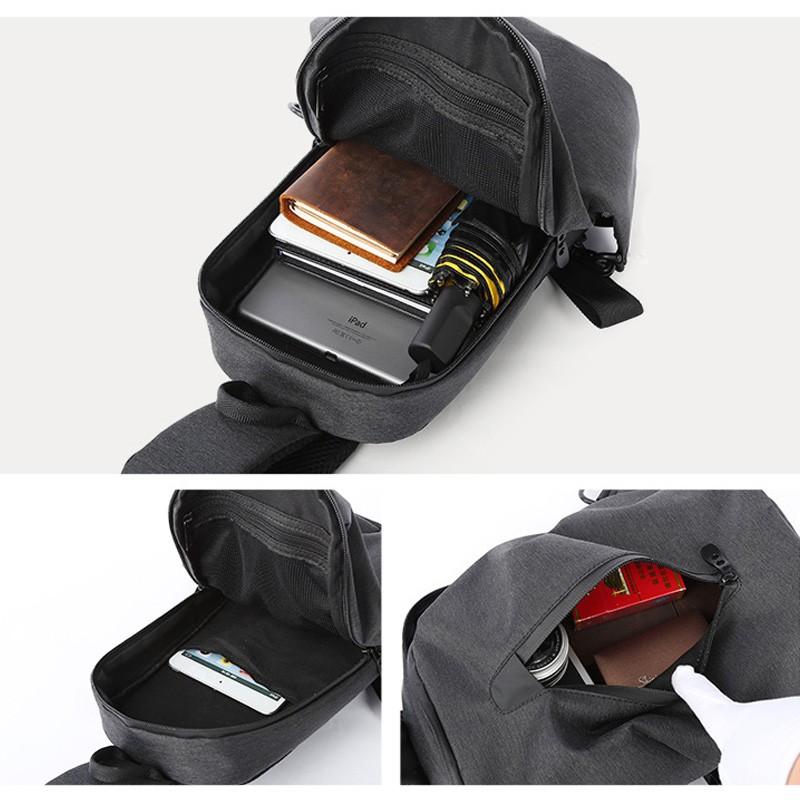 Мужской рюкзак Tailor на одно плечо - 4 фото