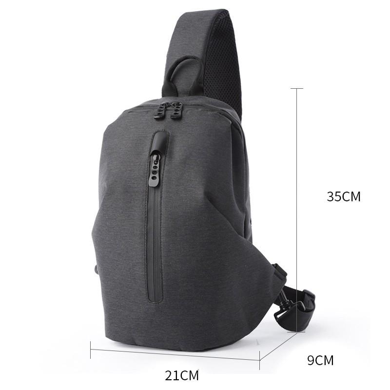 Мужской рюкзак Tailor на одно плечо - 12 фото