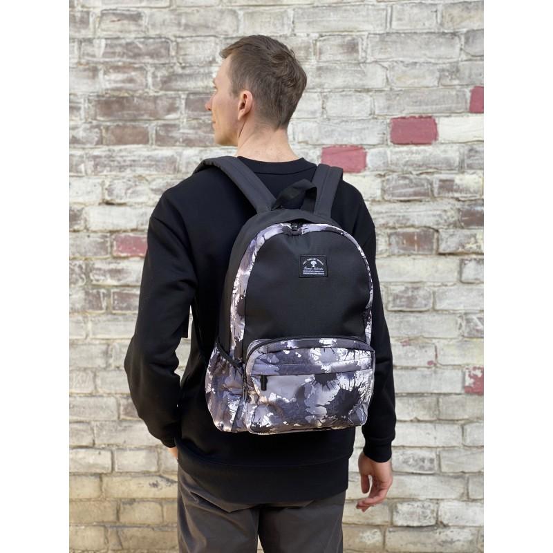 Рюкзак Galaxy Blur черно-белый - 4 фото