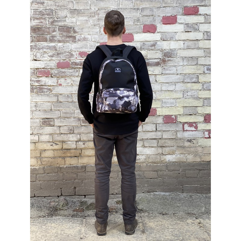 Рюкзак Galaxy Blur черно-белый - 7 фото
