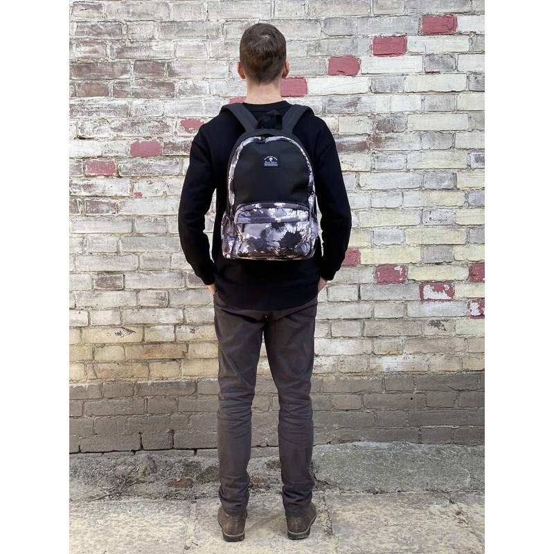 Рюкзак Galaxy Blur чорно-білий - 7 фото