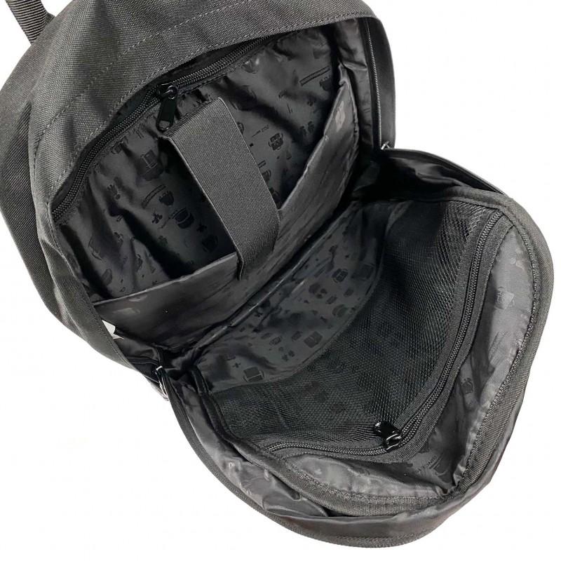 Рюкзак Galaxy Blur чорно-білий - 8 фото